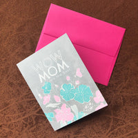 Letterpress Greeting Card  - Mom, you are the best