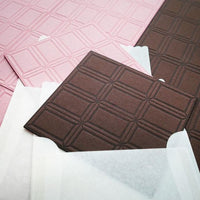 Letterpress Food Notecard - Sweet