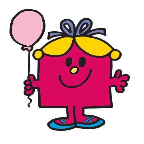 Mr Men Little Miss Greeting Card