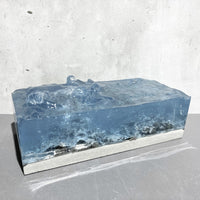 "Concrete x Resin Art ""water cave"""