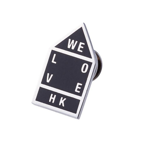 Sign of Water Supplies Department / We love HK Tie Pin (Black Sign)