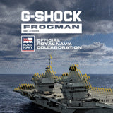 GWF-A1000RN-8A G-SHOCK Frogman x Official Royal Navy collaboration (Limited Edition)