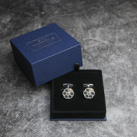 Roulette Rotatable Cufflinks