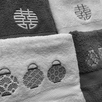 Hand Towel With Embroidery