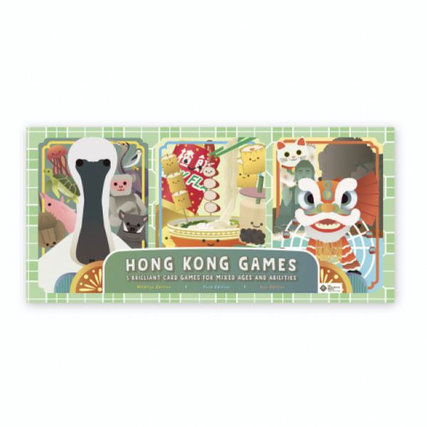 Hong Kong 5 in 1 Card Games