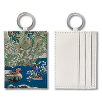 Four Seasons in the Style of Araki Juppo (Winter)  Name Card Holder 仿荒木十畝「四季花鳥- 冬」 咭片套