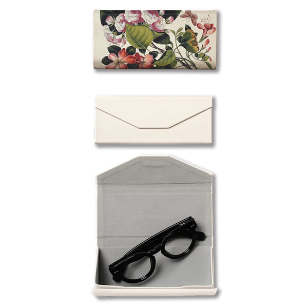 Study of Flowers Foldable Spectacle Case 蝶與花 眼鏡盒
