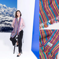 Handmade Bhutan Scarf - Tendrel Bliss