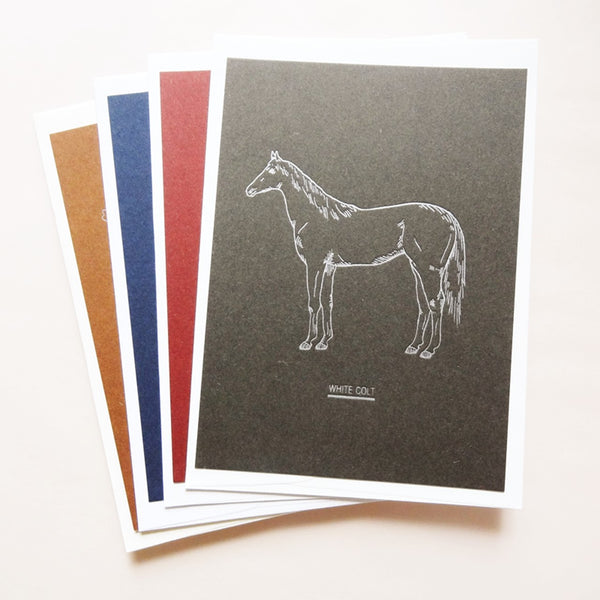 Letterpress Greeting Card - Animal Series
