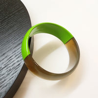 Horn Lacquer 2-Tone Bangle
