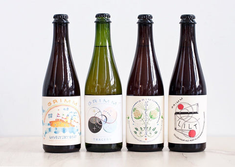 MIXED SOUR BOTTLE SET  -  Lovely Sky Boat / Niceties / Tracery / Lilt
