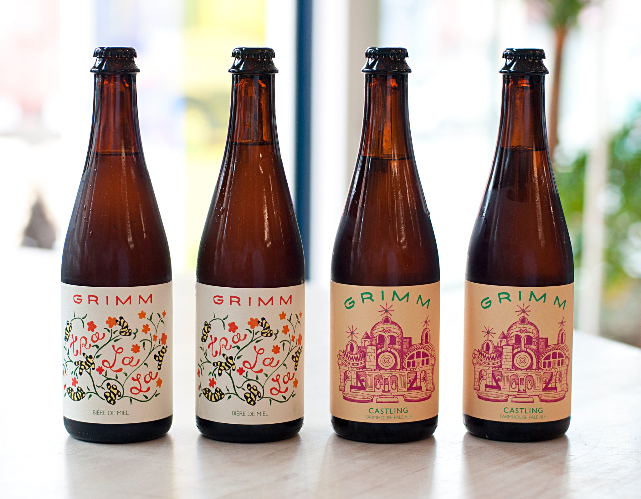 FARMHOUSE BOTTLE SET - CASTLING/TRA LA LA