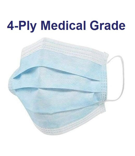 4-Ply Surgical Face Mask