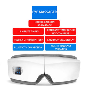 Osaki 4D Smart Eye Massager - U.ME MASSAGE CHAIR