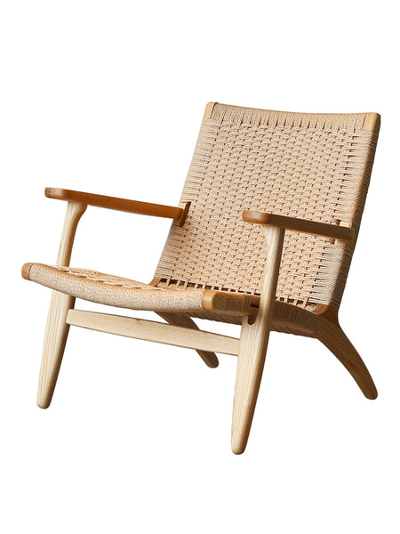 Designer Wood Rattan Cane Chair
