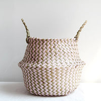 Handmade Seagrass Storage Basket (Multiple Designs)