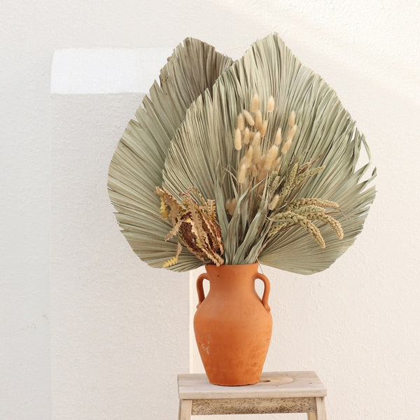 Dried Large Palm Fan Leaf (1 pc)