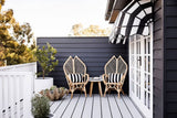 Elegant Rattan Patio or Living Room Chair