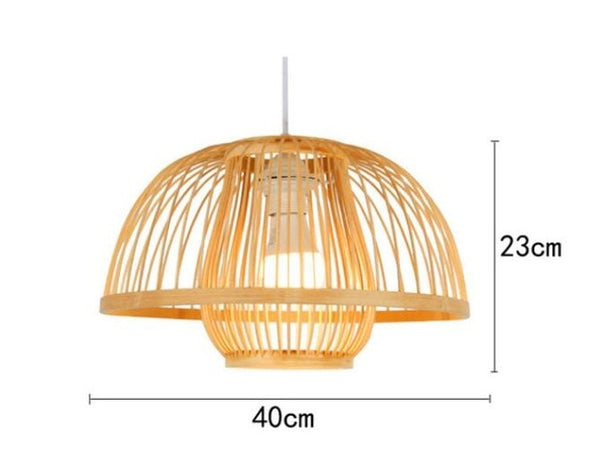Bamboo Pendant Hanging Light