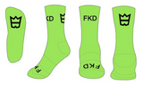 Light Green FKD Colours Socks
