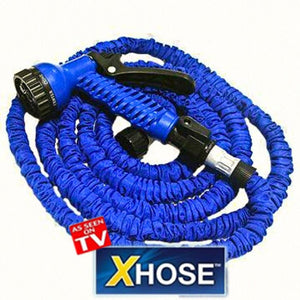 X Hose - Expandable Flexible Plastic Hose With Spray Gun