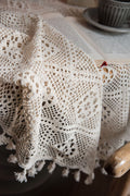 Handmade Lace Tablecloth - The Cottagecore