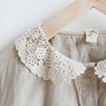Linen Cute Embroidered Shirt