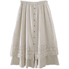 Lace Embroidered Skort