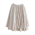 Double Layered Joint Lace Skirt - The Cottagecore