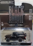 1/64 GREENLIGHT 1994 FORD BRONCO BLACK BANDIT NEW ON CARD