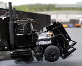 1/64 SCALE DCP / FIRST GEAR MACK SUPERLINER AC/DC WITH DROP DECK TRAILER
