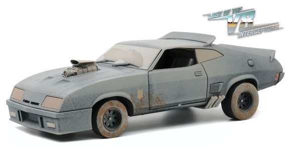 1/18 GREENLIGHT WEATHERED VERSION MAD MAX FORD XB LAST OF THE V8 INTERCEPTERS MOVIE CAR NEW IN BOX LIMITED EDITION