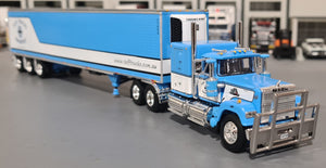 1/64 SCALE MACK SUPERLINER WITH TRI TRAILER TUFFTRUCKS/DCP 60-0933