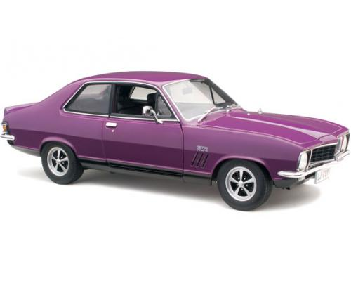 1/18  CLASSIC CARLECTABLE 1973 HOLDEN LJ TORANA GTR XU-1 IN PURR PULL