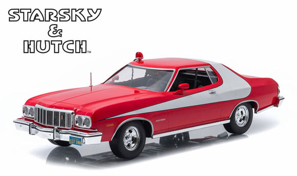 1/18 GREENLIGHT STARKY & HUTCH 1976 FORD GRAND TORINO TV SERIES CAR NEW IN BOX