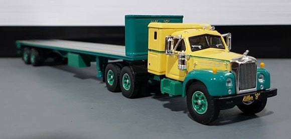 1/64 DCP / FIRST GEAR KILLER -B  MACK B-MODEL WITH MATCHING TRAILER