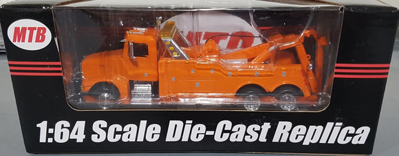 1/64 SPECCAST PETERBILT DIECAST HEAVY TOW TRUCK ORANGE AUD FREE POST