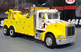 1/64 SPECCAST PETERBILT DIECAST HEAVY TOW TRUCK YELLOW WITH FLAMES AUD FREE POST