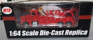 1/64 SPECCAST PETERBILT DIECAST HEAVY TOW TRUCK RED AUD FREE POST