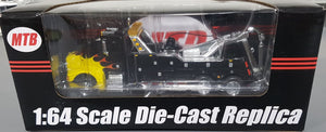 1/64 SPECCAST PETERBILT DIECAST HEAVY TOW TRUCK BLACK WITH FLAMES AUD FREE POST