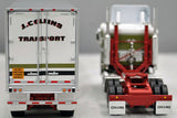 Pre Order: DCP / FIRST GEAR K100 KENWORTH COLLINS TRANSPORT WITH TRI AXLE TRAILER *****AND FREE BULLBAR WITH PAID PRE ORDERS ONLY***** 60-0731