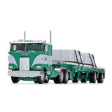 1/64 DCP/FIRST GEAR PETERBILT 352  GEORGE VAN DYKE TRUCKING WITH FLAT TOP TRAILER