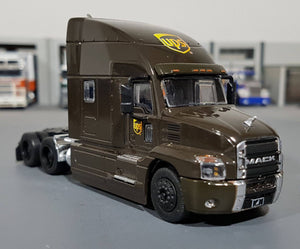 1/64 GREENLIGHT 2019 MACK ANTHEM PRIME MOVER UPS NEW IN DISPLAY BOX