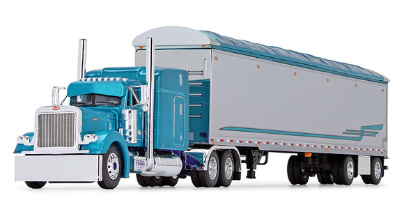 1/64 PETERBILT 379 PYSKATY BROS TRUCKING WITH WALKING FLOOR TRAILER BIG RIG SERIES