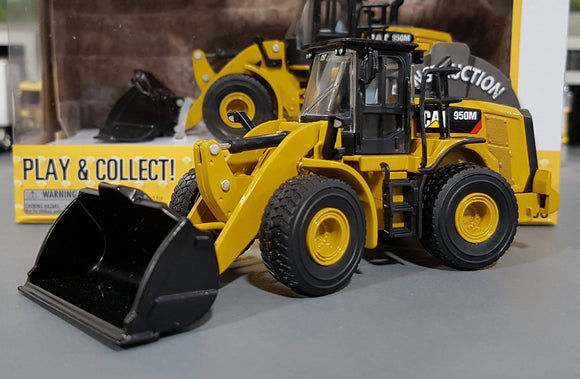 1/64 DIECAST MASTERS CAT 950M WHEEL LOADER