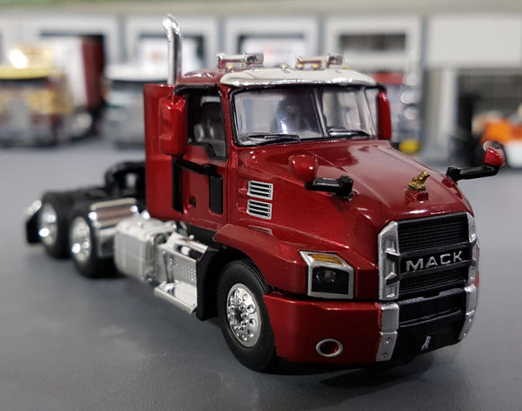 1/64  DCP / FIRST GEAR MACK ANTHEM PRIME MOVER IN LACCQUER RED