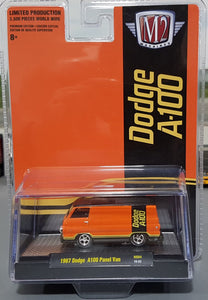 1/64 M2 MACHINE 1967 DODGE A-100 PANEL VAN LIMITED RUN NEW ON CARD