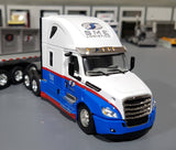 1/64 DCP / FIRST GEAR FREIGHTLINER SME LOGISTICS BEAM LOADED TRAILER 60-0673