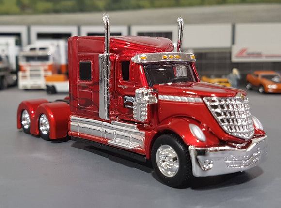 1/64 MAISTO LONESTAR PRIME MOVER MAROON NEW IN BOX