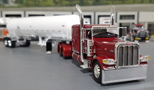 1/64 DCP / FIRST GEAR PETERBILT 389 AG DYNASTY WITH AMMONIA TANKER TRAILER 60-0584